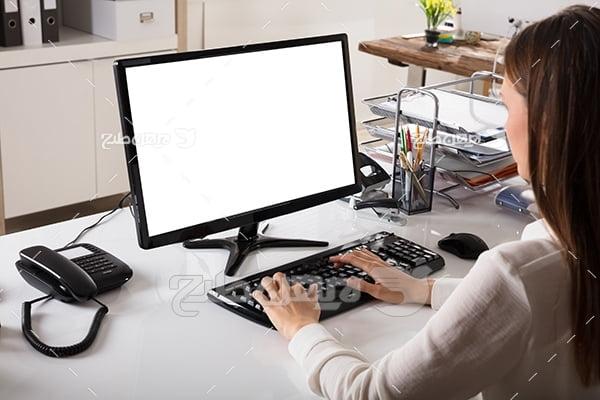 کامپیوتر و تایپ کردن