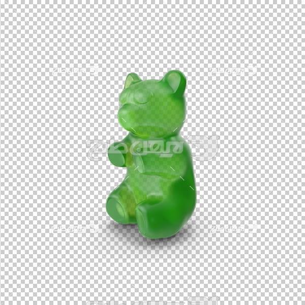 تصویر دوربری سه بعدی پاستیل