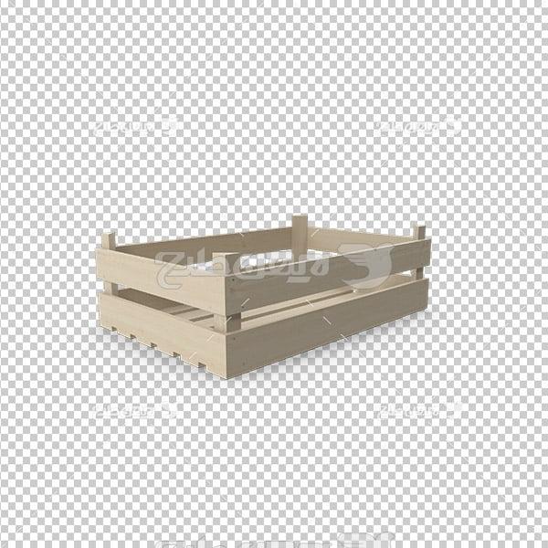 تصویر دوربری سه بعدی جعبه میوه