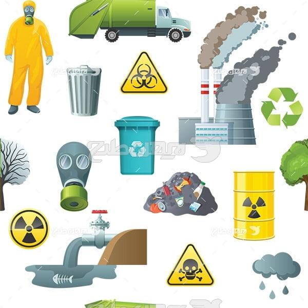 وکتور آلاینده های محیط زیست