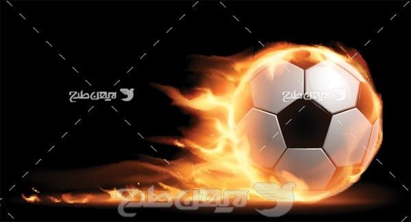 وکتور توپ فوتبال