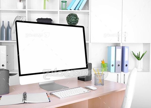 عکس آی مک و کامپیوتر رو میزی