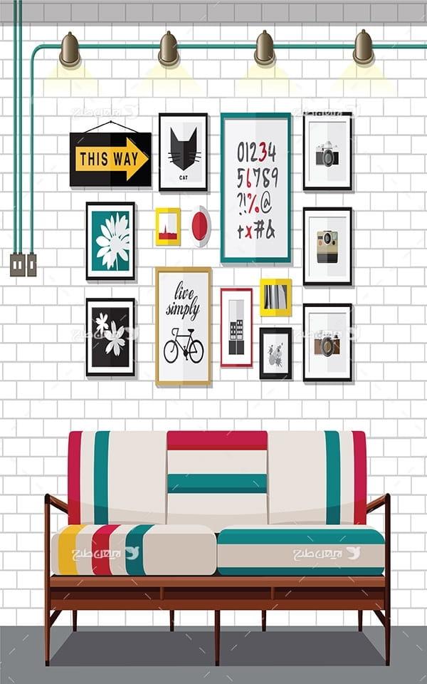 طرح دیزاین منزل