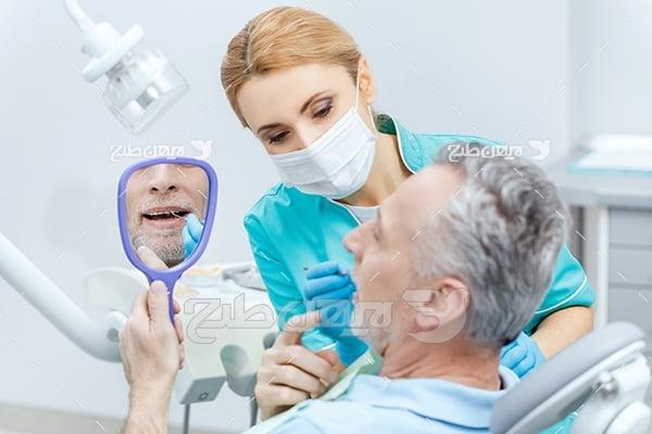 عکس درمان دندان