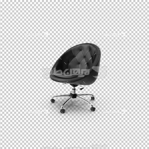 تصویر دوربری سه بعدی صندلی چرخدار