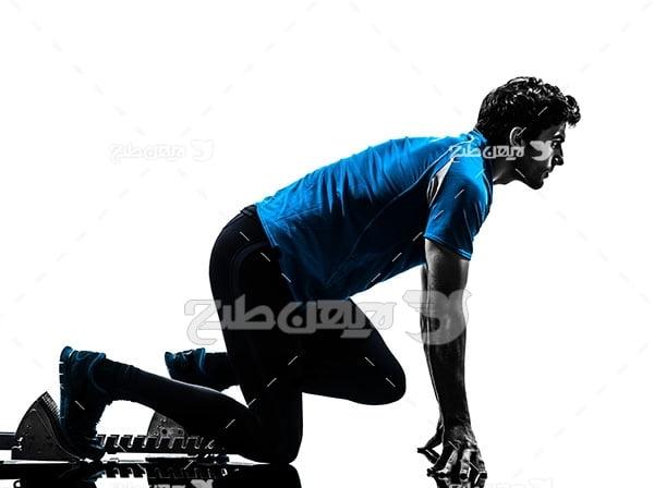 عکس ورزشی دویدن