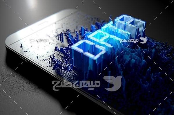 عکس دیتای موبایل