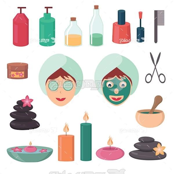 وکتور آرایشی بهداشتی