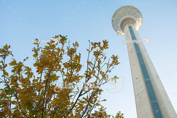 عکس با کیفیت از برج میلاد تهران