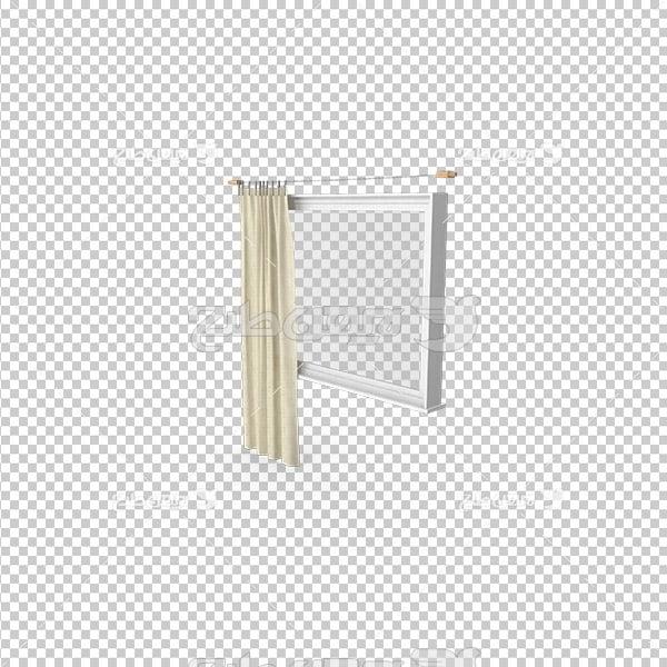 تصویر دوربری سه بعدی پرده