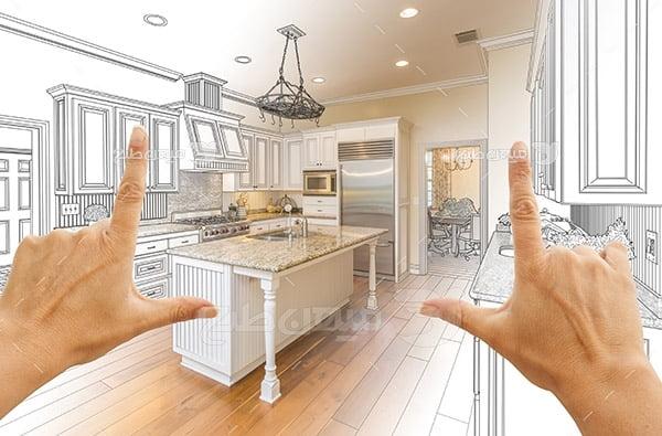 عکس طراحی دکور آشپزخانه