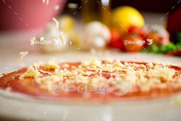 تصویر پیتزا