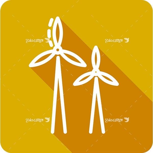وکتور توربین ذخیره انرژی از باد