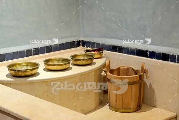 عکس کاسه حمام