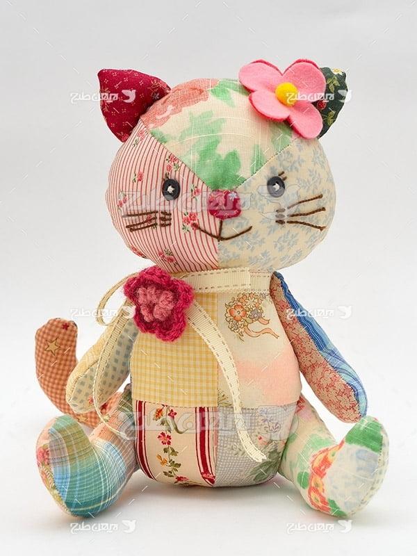 عکس عروسک گربه