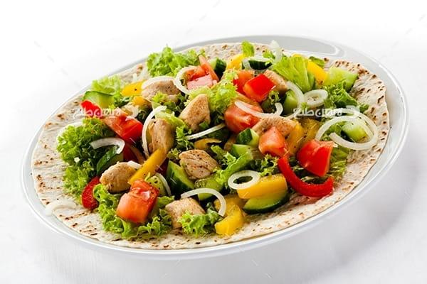 عکس غذا سالاد