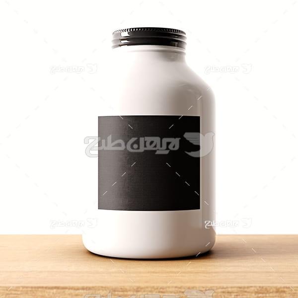 عکس بطری عکس ظرف شیشه ای دربسته