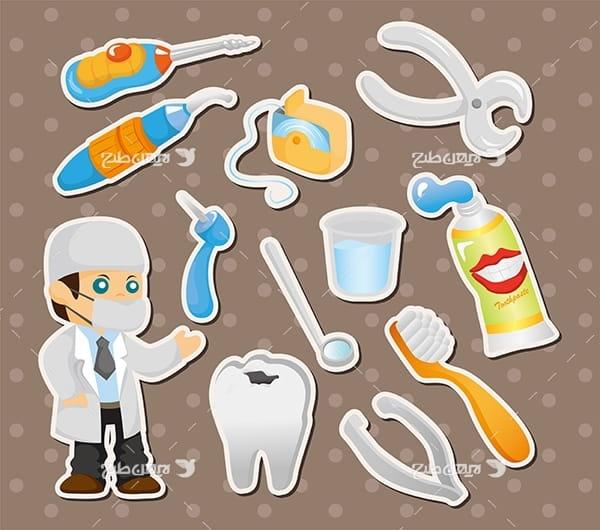 وکتور پزشک و تجهیزات مراقب دندان