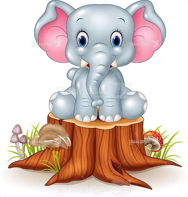 وکتور گرافیکی فیل