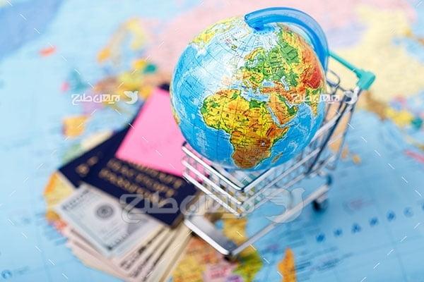 تصویر مسافرت و گردشگری و کره زمین