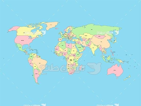 نقشه کشور ها