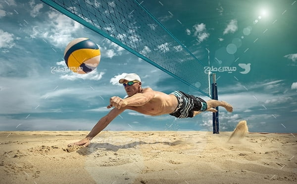 عکس والیبال ساحلی
