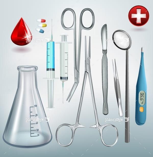 وکتور تجهیزات پزشکی و درمان