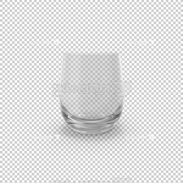 تصویر سه بعدی دوربری لیوان بلوری