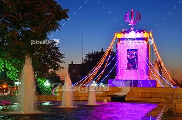 عکس میدان الله