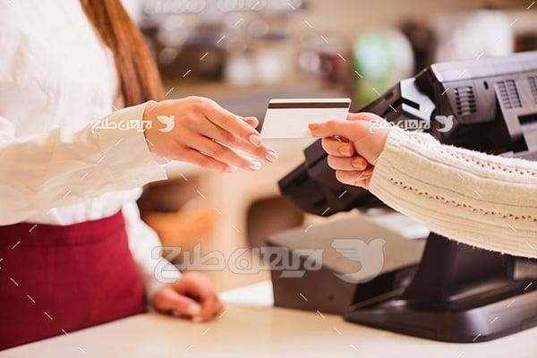 عکس کارت بانکی