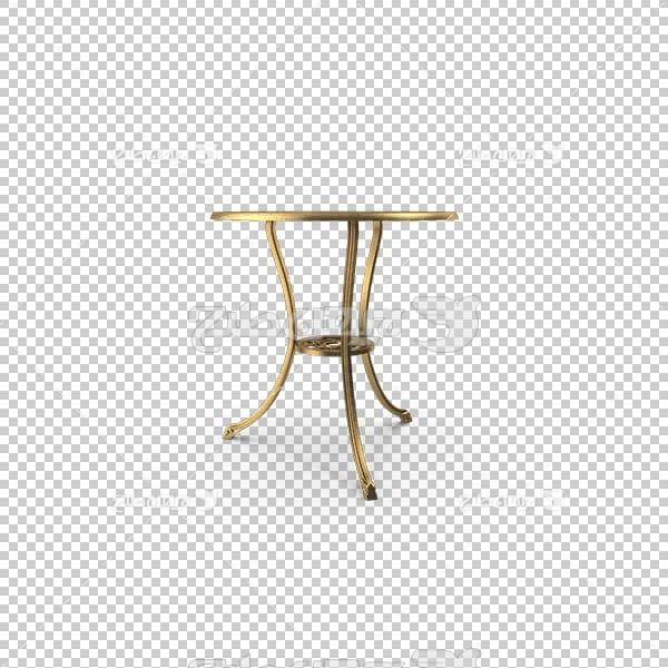 تصویر سه بعدی دوربری میز ناهار خوری چینی