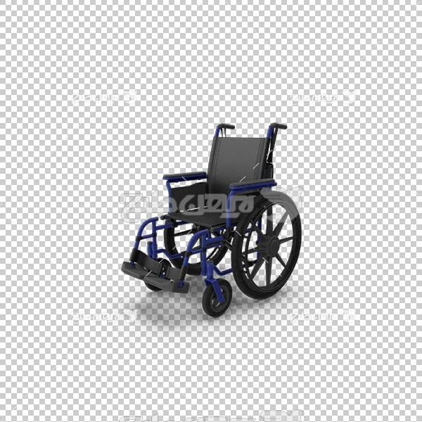 تصویر سه بعدی دوربری ویلچر