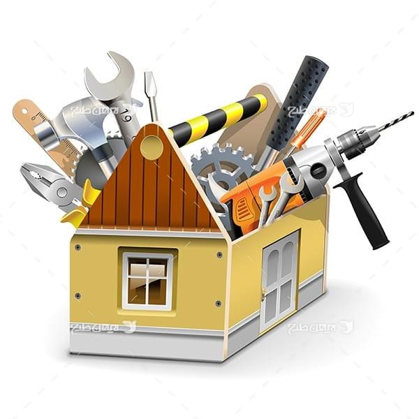 طرح انواع جعبه ابزار خونه ی