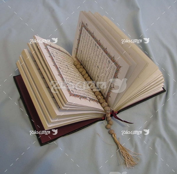 عکس قرآن و تسبیح