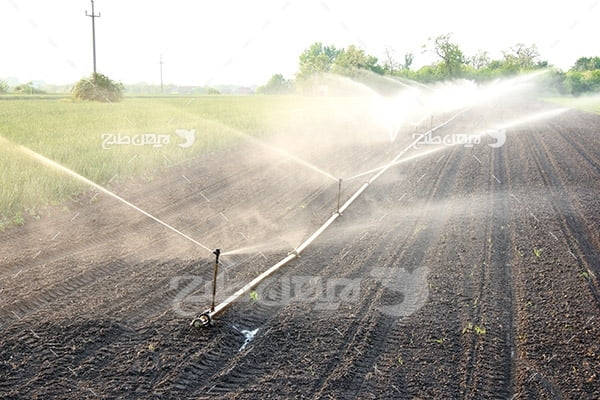 عکس کشاورزی آب یاری