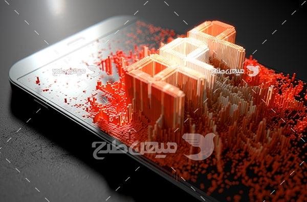 عکس موبایل و app