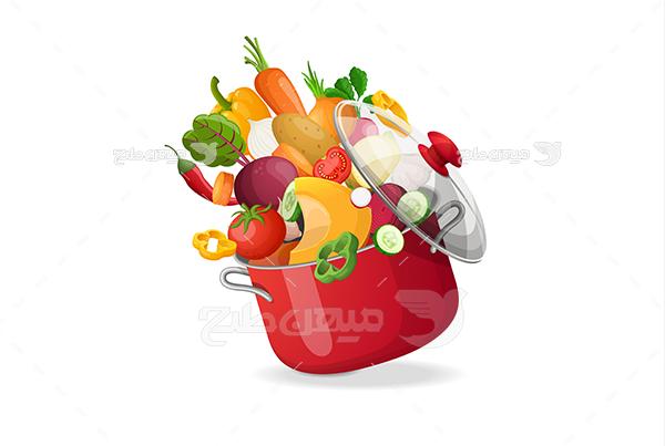 وکتور سبزیجات