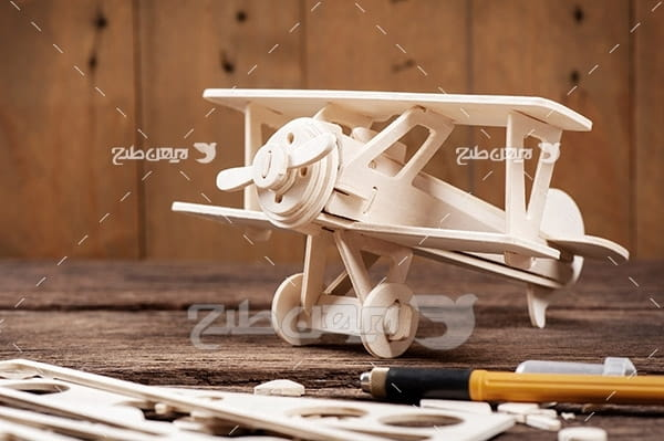 ماکت چوبی هواپیما