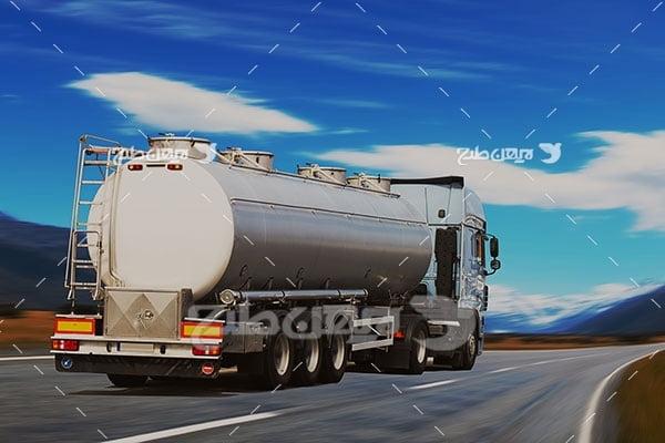 عکس کامیون نفت کش
