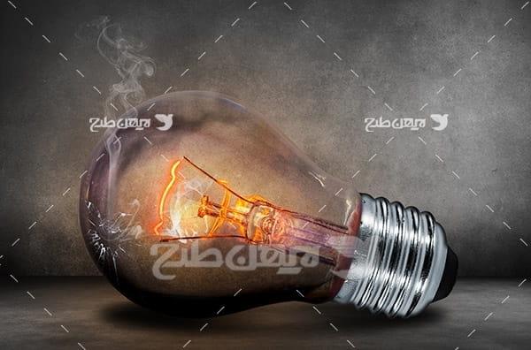 عکس با کیفیت از لامپ
