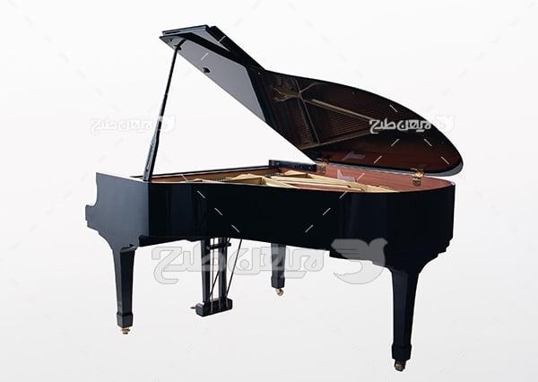 تصویر موسیقی پیانو