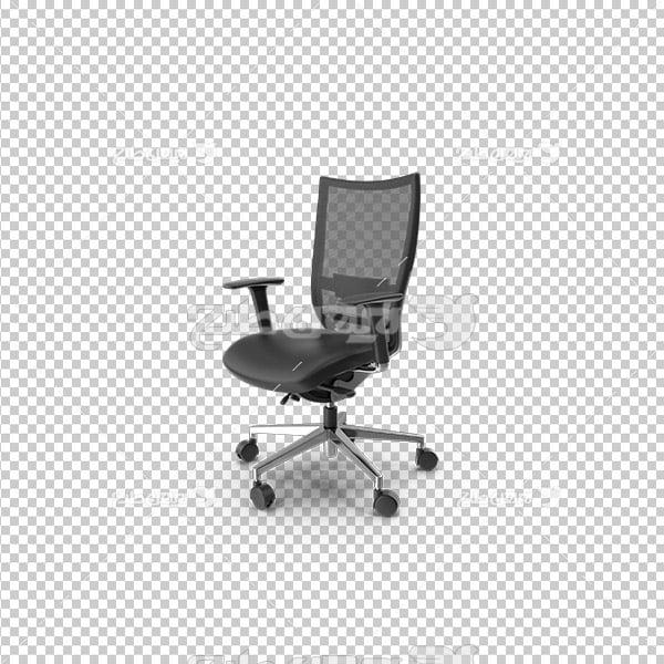 تصویر دوربری سه بعدی صندلی چرخ دار