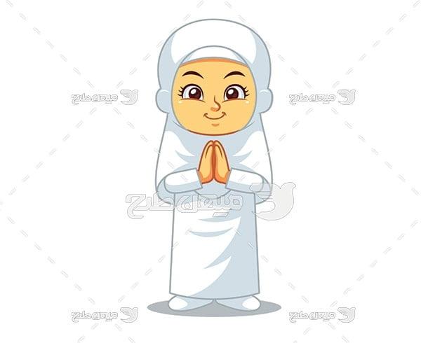 وکتور دعا و نیایش