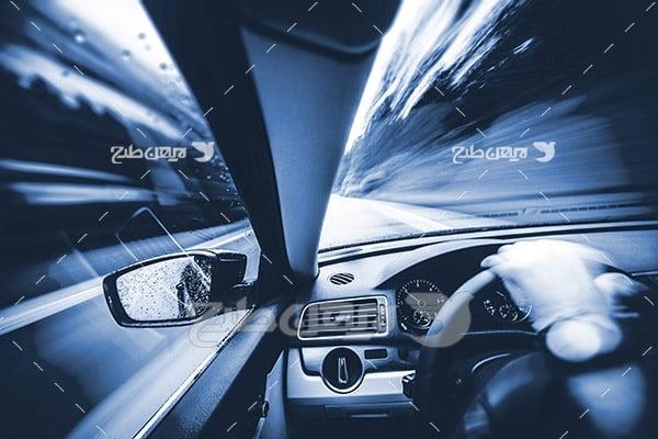 عکس رانندگی