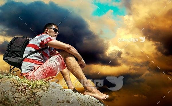 تصویر ورزشی کوه نوردی