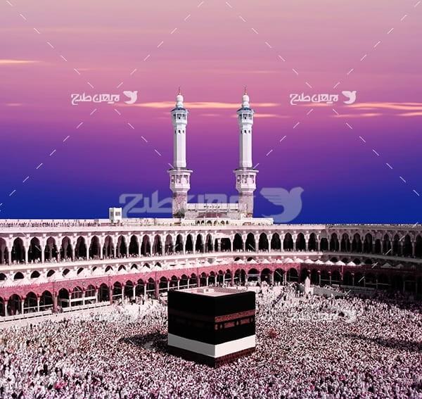 عکس مذهبی کعبه خانه خدا