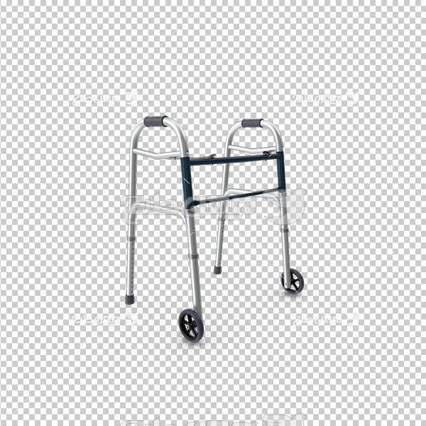 تصویر دوربری سه بعدی عصای بیمار