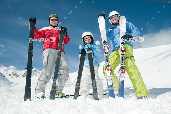 عکس ورزش اسکی