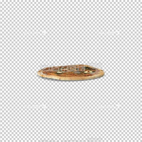 تصویر دوربری سه بعدی پیتزا
