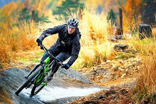تصویر دوچرخه سواری
